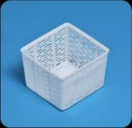 Квадратная корзиночка для  рикотты и сыра