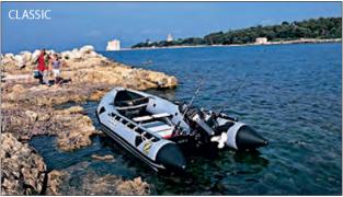 Прочная надувная резиновая лодка Zodiac CLASSIC