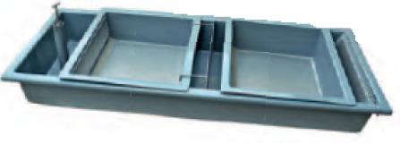 Инкубационный лоток с двумя вставками