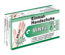 Одноразовые перчатки Vinyl  - S