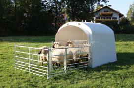 Палатка большой вместимости с комплектом соединений